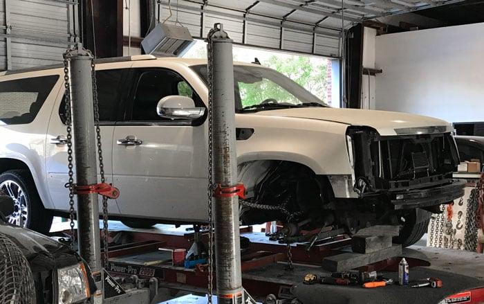 Auto Frame Repair Service Richmond, TX