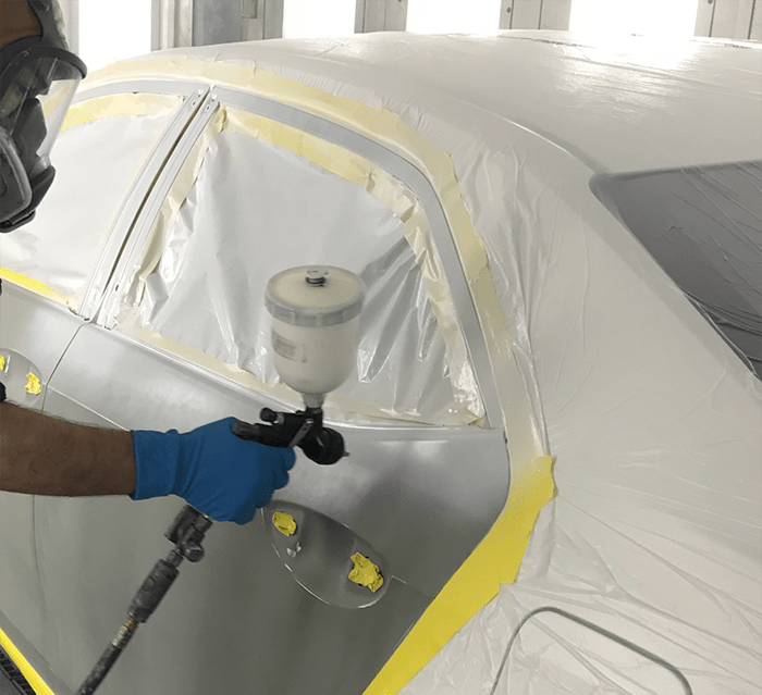 High-quality auto painting service from certified technicians